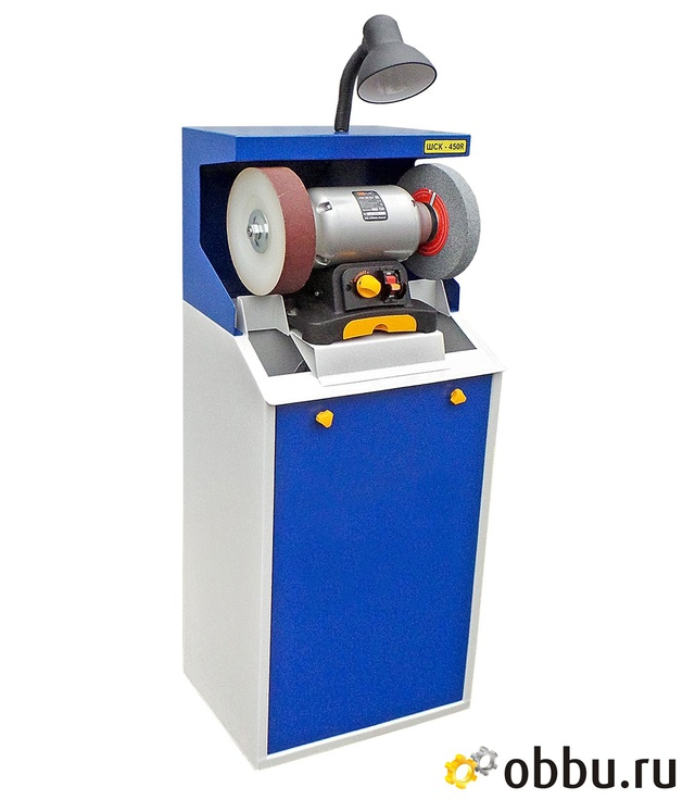 ОБОРУДОВАНИЕ ДЛЯ ОБУВИ ШЛИФОВАЛЬНЫЙ СТАНОК ШСК-450R Оборудование для пошива и ремонта обуви