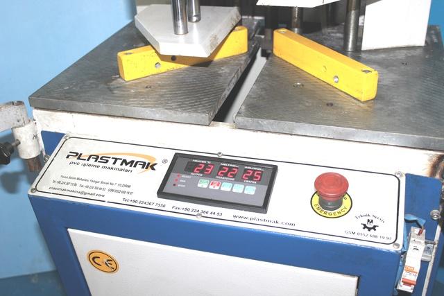 PLASTMAK SC 101 Одноголовочный сварочный станок для окон ПВХ (Б/У оборудование)